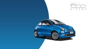 La nuova Fiat 500 Mirror